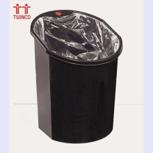 15L Plastic Waste Bin Dust Can Household Plastic Trash Bin