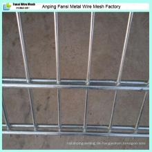 PVC mit feuerverzinktem Galvanisch verzinktem Sicherheits-Doppeldraht-Zaun