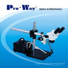 Microscópio estereofónico do Zoom da inspeção profissional (ZTX-PW-D)