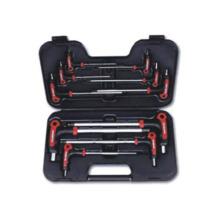 Комплект 10PC-T-образных ключей с защитой от взлома и звездообразных ключей