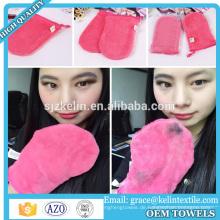 Deep Cleaning Make-up Entferner Microfiber Kosmetik Handschuh / Facial Mitt
