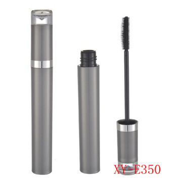 Delicate Sleek Gray Mascara Tube