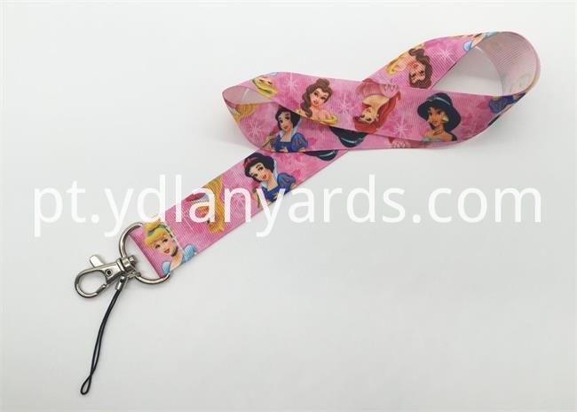 Dye Sublimation Carton lanyards