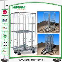 Lager Draht Metall zusammenklappbar Lagerung Rollkäfig