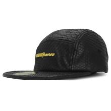 Sanke Skin Leather Cap