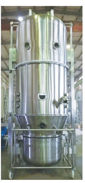 Fluid Bed Top Pulverização One Step Mixing Drying Granulator