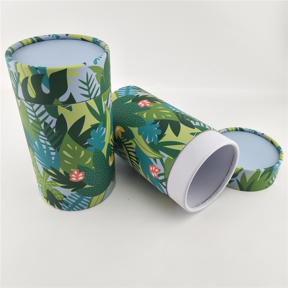 Custom T Shirt Cardboard Packaging Paper Tube