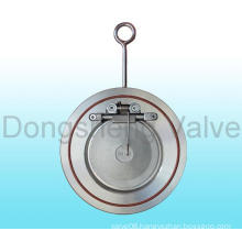 Thin Style Single Disc Swing Check Valve with Spring