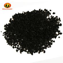 valor de yodo 500-900 mg / g de cáscara de coco carbón activado para el paquete de carbón