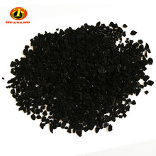 valeur d'iode 500-900mg / g de charbon actif de coquille de noix de coco pour le paquet de charbon de bois