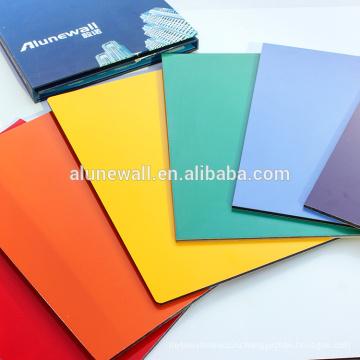 PVDF покрытия Анодированная алюминиевая составная панель для рекламировать печатание