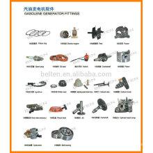 Peças de gerador OHV Peças sobressalentes para geradores de gasolina GX160 168f