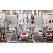 Multi Head Double Pailletten Stickerei Maschine / 4 Pailletten Pile Pailletten (FW915