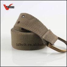 Le plus récent design matériel de ceinture de toile populaire
