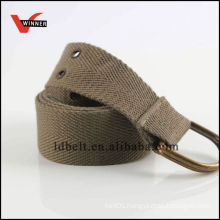 Newest design popular canvas belt material
