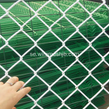Vit Coulor Vinyl Coated Chain Link Fence Fabric