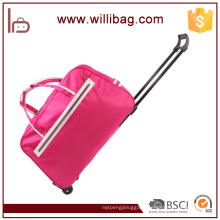 Durable Travel Bag Trolley Nylon Travel Bag With Wheels