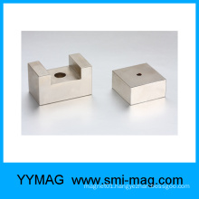 NdFeB concave magnets neodymium special shape magnet