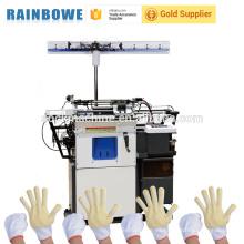 Tipo industrial simple que hace punto la máquina a los guantes de manufactring