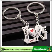 2016 nouveaux produits Love Key Chain dans une paire