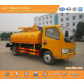 DONGFENG RHD fecal suction truck 4x2 4000L