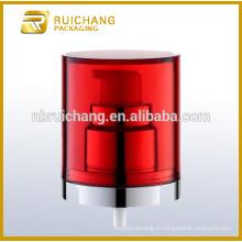 Pompe à lotions de revêtement uv en plastique / pompe à crème 22mm / distributeur de pompe à revêtement UV avec AS overcap