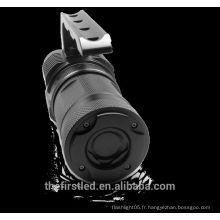 Tissu imperméable à l'eau pour la torche torche de plongée Lampe torche à LED avec 4XCree XM-L2