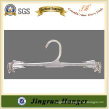 2015 Hot Sale Hanger Transparent Plastic Hanger pour les sous-vêtements