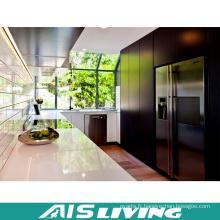 Meubles d'armoires de cuisine de mélamine pour la maison de villa (AIS-K319)