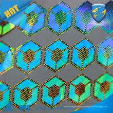 Пользовательская головоломка 3D-сертификата ZOLO дешевая голографическая наклейка клейкая голограмма против подделки наклейки