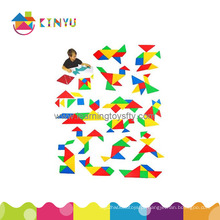 Jogo de mesa / Tangram em plástico / Puzzles educativos