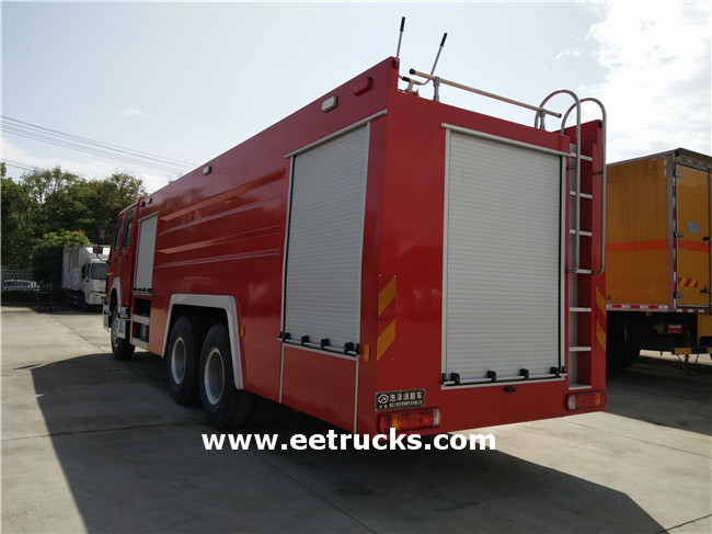 10 Wheeler Fire Fighting Vehicles