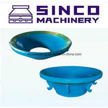 High Quality Cone Crusher Spare Parts Concave and Mantle