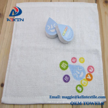 Promotion Cheap 100 Cotton logo print Compressed Towels Magic Towel