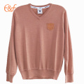 Mens Quality Thin Sweater Mercerized Wool Sweater