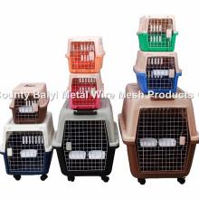 Portador de mascotas de plástico de alta calidad / jaula de vuelo de mascotas / caja de transporte de perros (Whatsapp: +86 13331359638)