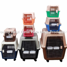 Carrinha de Petróleo de plástico de alta qualidade / Pet Flight Cage / Dog Transport Box (Whatsapp: +86 13331359638)