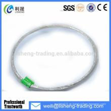 19 * 7 Sling de corda de aço de alta tensão galvanizado