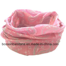 На заказ Дизайн печатных УФ-защита из двери спорта розовый упругой многофункциональный Buff Headwear