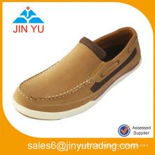 Art und Weise China Wholesale PU 2014 Männer arbeiten beiläufige Schuhe um