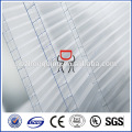100% virgin bayer material polycarbonate honeycomb roof sheet