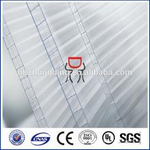 10мм опал 3-стена прямоугольник-структура поликарбоната полый лист
