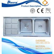 DS 12050 Tiny House Pediküre Jets einzigartige Sockel Küche Waschbecken In Singapur