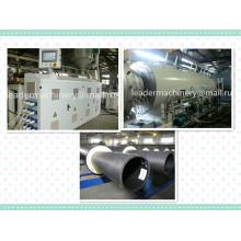 Línea de extrusión / línea de producción de tubería de agua de 110 mm 160 mm 400 mm 450 mm PE HDPE