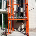 Electric outdoor hydraulic vertical platform cargo lift