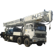 Буровая установка на базе грузового автомобиля YKMC-600