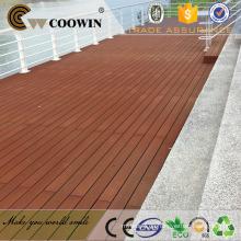 Konkurrenzfähiger Preis im Freien rotes Holz geprägtes wpc Decking