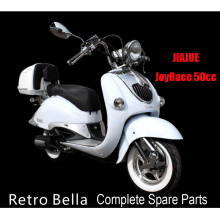Jiajue Retro Bella Scooter Parts Peças Scooter completas