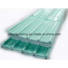 Feuille de toiture de fibre de verre, feuilles transparentes de toiture de PRF