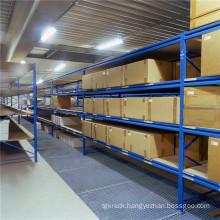 Medium Duty Rack with Step Beam and Shelves